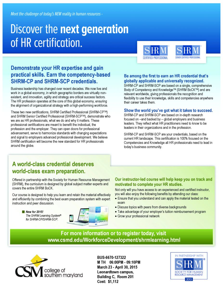 Discover the next generation of hr certification human resources discover the next generation of hr certification 1betcityfo Image collections